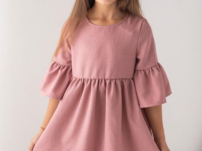 Sukienki dziewczęce dla osób ze skórą wrażliwą
